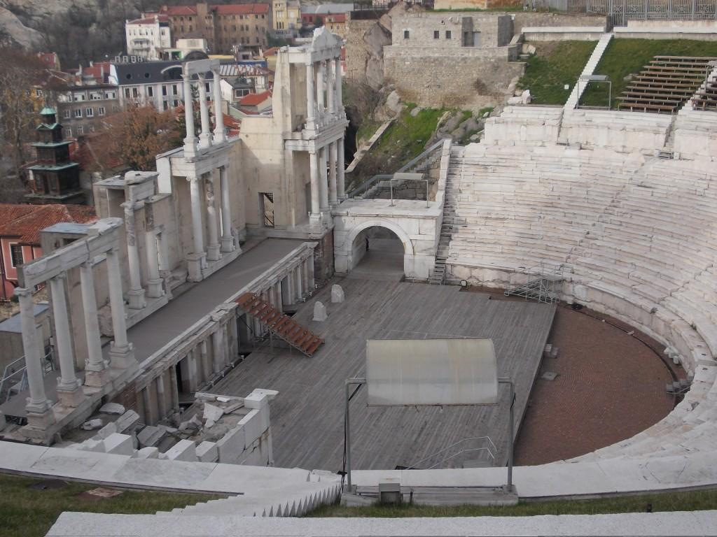 Roman Theatre Plovdiv, Bulgaria