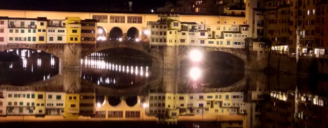 The Ponte Vecchio - Florence
