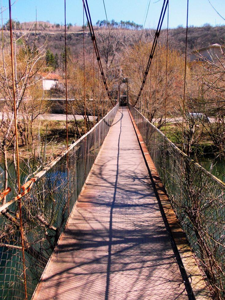 The Suspension Bridge over the Yantra