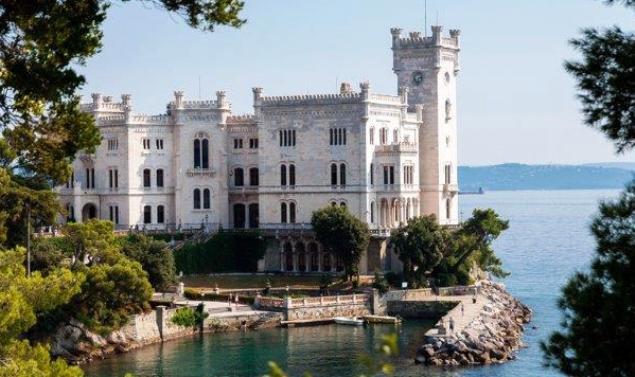 Miramare Castle – as a great alternative to (easy) public transport---an approx. 1 ½ hour brisk walk (from the central train station) along the scenic coastal passeggiata (promenade) di Barcola