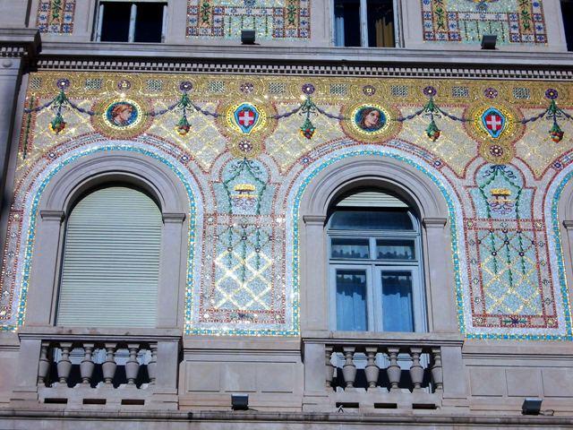The ornate Palazzo Del Governo - on Piazza Unita d'Italia