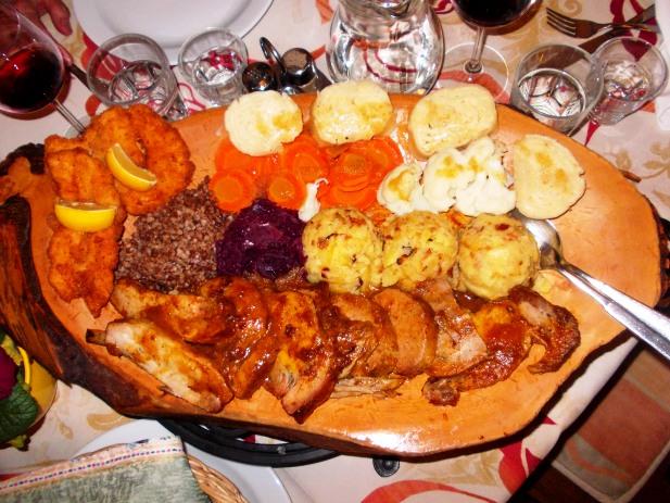 A Slovenian feast at Gostilna Pri Boštjanu - Križna Gora