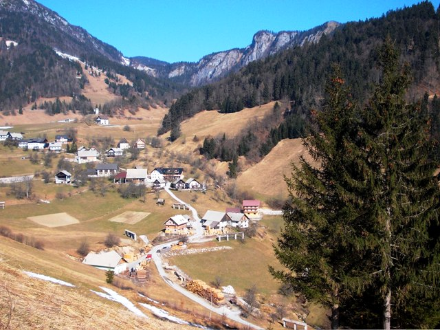 Indescribably beautiful high mountain village of Spodnja Sorica -- in the Upper Carniola region (above Škofja Loka) - ask Igor about a guided day trip!