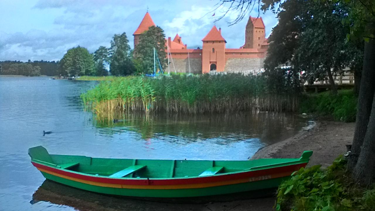 Trakai Island Castle - nearby Vilnius