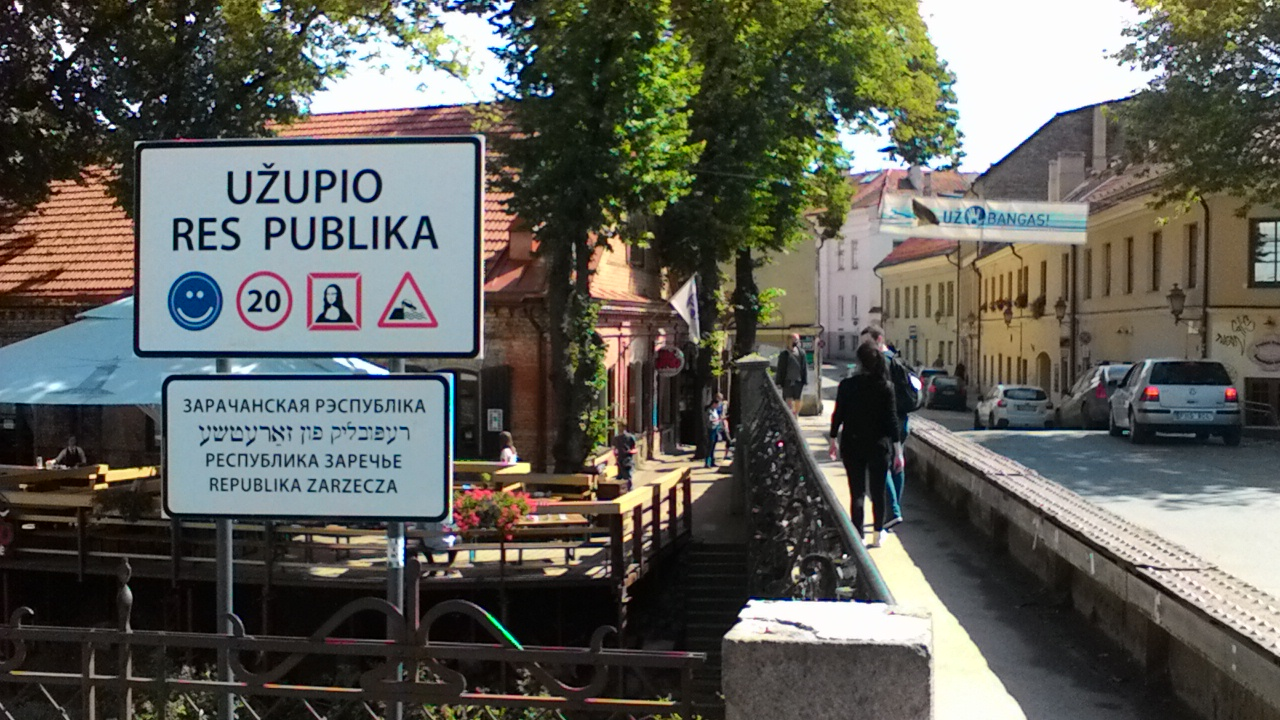 """Republic of Užupis"" IN Vilnius"